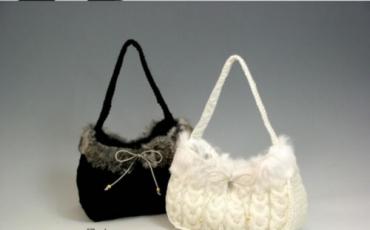 Зимние модели вязаных сумок и летние вязаные сумки (фото.