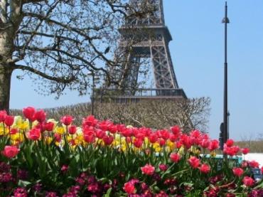 В апреле Киев станет Францией