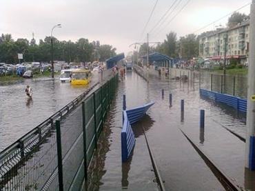 Пол Киева уйдет под воду весной 2013 года
