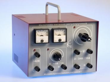 L-micro: Источник питания 220/24В 6А (регулируемый) .